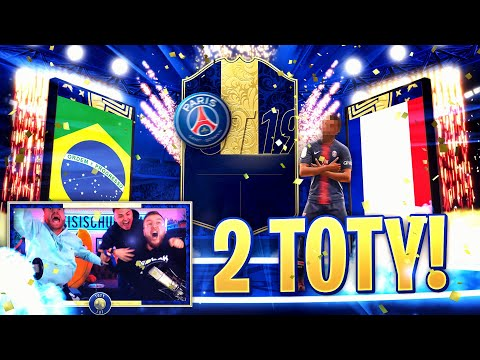 2x TOTY im PACK OPENING !! Das GLAUBT man kaum !! FIFA 19