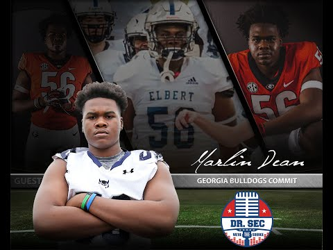 UGA Commit Marlin Dean from Elbert County High School Joins Dr. SEC