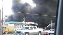 Huachuca City Arizona Fire  today March 16, 2010