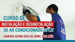 Curso de Instalação e Manutenção Ar Condicionado Split - O mais completo do Brasil