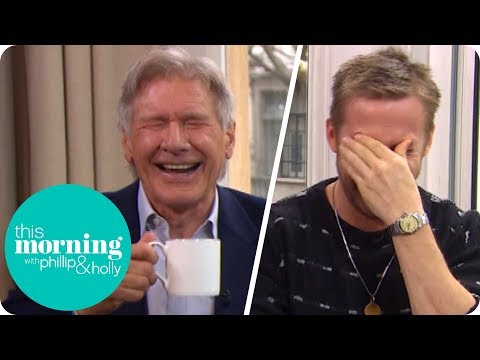 Ryan Gosling and Harrison Ford Lose It at Hilarious !  This Morning