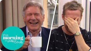Ryan Gosling and Harrison Ford Lose It at Hilarious Interview! | This Morning streaming