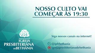 """Culto Vespertino- """"Sejais nova massa no Senhor"""""""