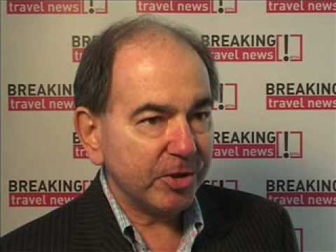 Keith Patrick, TAM Airlines at WTM 2008