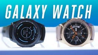 Samsung Galaxy Watch hands-on