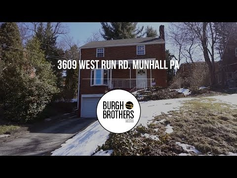 Cinematic Property Tour - 3609 West Run Rd. Munhall PA