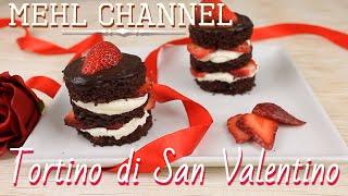Ricetta Tortino dolce al cioccolato, fragole e mascarpone - Ricetta San Valentino | Mehl Channel