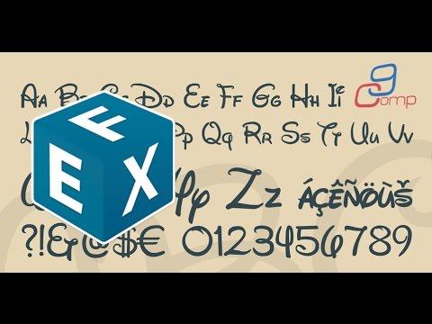 התקנה וניהול פונטים במק Font Explorer