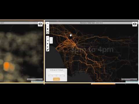Urban Space Explorer: Visualizing Social Media to Understand Human Behavior in Cities