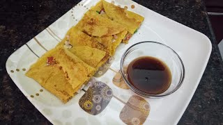 Healthy and tasty besan chilla at home
