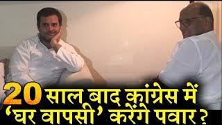 क्या कांग्रेस में होने वाला है शरद पवार की पार्टी NCP का विलय INDIA NEWS VIRAL