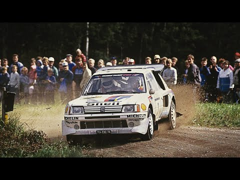 Group B Monsters in Finland - with pure engine sounds (1000 Lakes Rally 1983-1986)