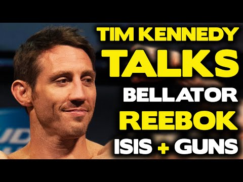 Tim Kennedy on ISIS, Reebok, going to Bellator if he wasn't under UFC contract