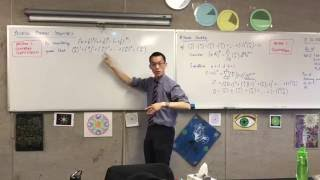 Proving Binomial Identities (3 of 6: Proving harder identities by comparing the constant term)