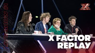 X Factor Replay: Live Show #1