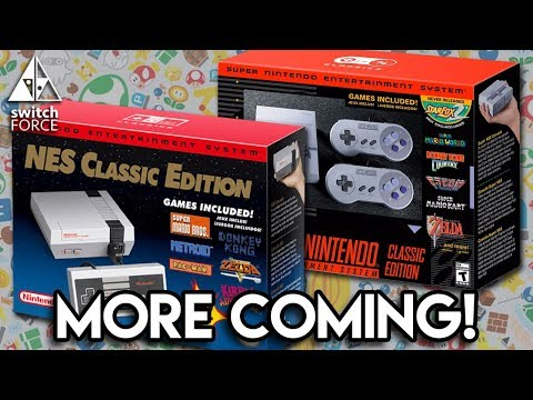 Nintendo Bringing BACK NES CLASSIC, MORE SNES CLASSIC! Virtual Console Switch?