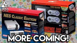 Nintendo Bringing Back Nes Classic, More Snes Classic! Virtual Console Switch?