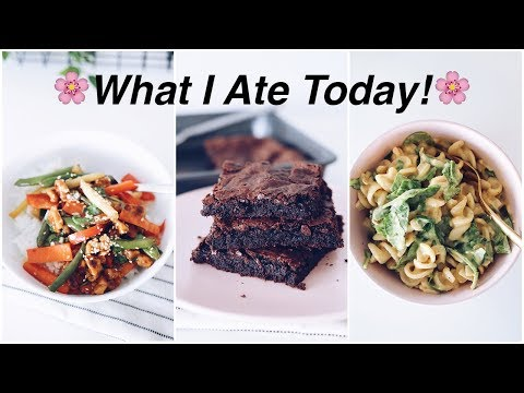 What I Ate Today | Spring Edition! (easy vegan recipes)