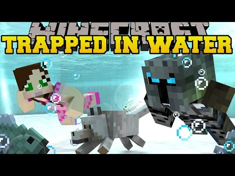 Minecraft: TRAPPED UNDER WATER! - HIDDEN BUTTONS 2 - Custom