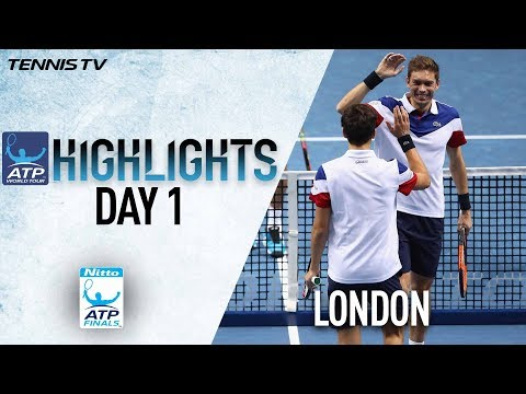 Highlights Herbert Mahut Rally For Win at Nitto ATP Finals 2017 Round Robin