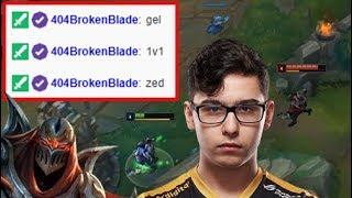 Zedxsmurf vs TSM BrokenBlade | LoL 1v1
