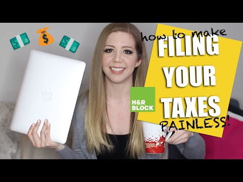 How to Make Filing Your Taxes Painless with H&R Block Canada
