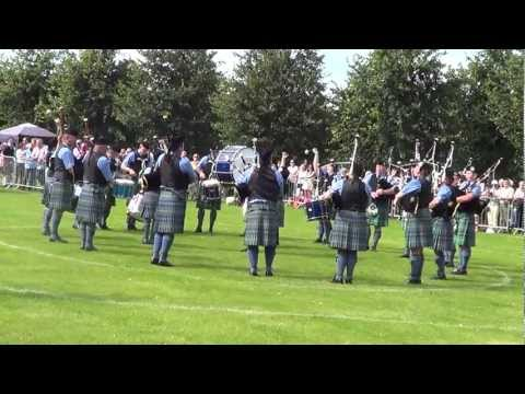Islay Pipe Band: World Championships 2012