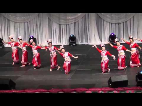 Hmong Minnesota New Year Celebration 2014, (Dances, day 2) 8 [HD]