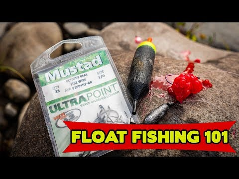 FLOAT FISHING 101 - Bobbers & Eggs For Salmon, Trout, & Steelhead
