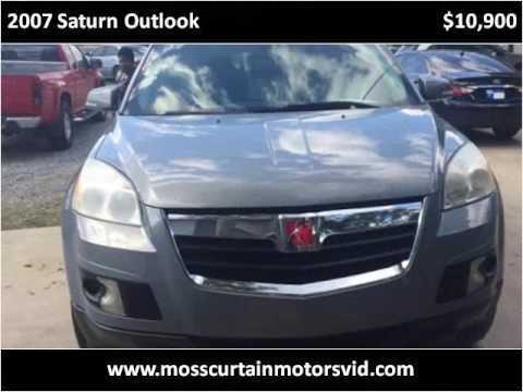 2007 Saturn Outlook Cars Vidalia Ga Moss Curtain Motors
