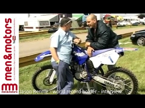 Longest Motorcycle Jump World Record Holder - Interview