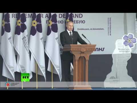 Владимир Путин об Армении: ко дню рождения президента России