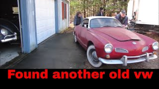 Cheap 1965 VW Karmann Ghia Find.