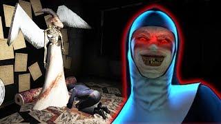 МОНАХИНЯ ПОКЛОНЯЕТСЯ ДЬЯВОЛУ! - The Nun | Монахиня