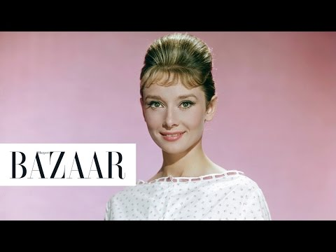 Audrey Hepburn in the 1950s