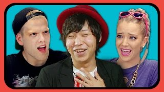 Repeat youtube video YouTubers React to Tight Pants / Body Rolls