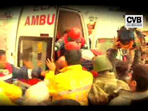 MIRACLE RESCUE: TWO-WEEK-OLD BABY RESCUED ALIVE FROM QUAKE RUBBLE