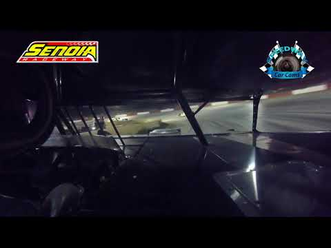 #14 Glenn Morris - Super Late Model - 8-12-17 Senoia Raceway - In Car Camera