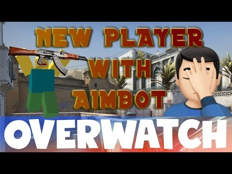 New Player with AIMBOT CS:GO OVERWATCH thumbnail