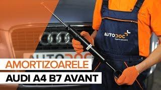 Cum se inlocuiesc amortizoare din față pe AUDI A4 B7 AVANT TUTORIAL | AUTODOC