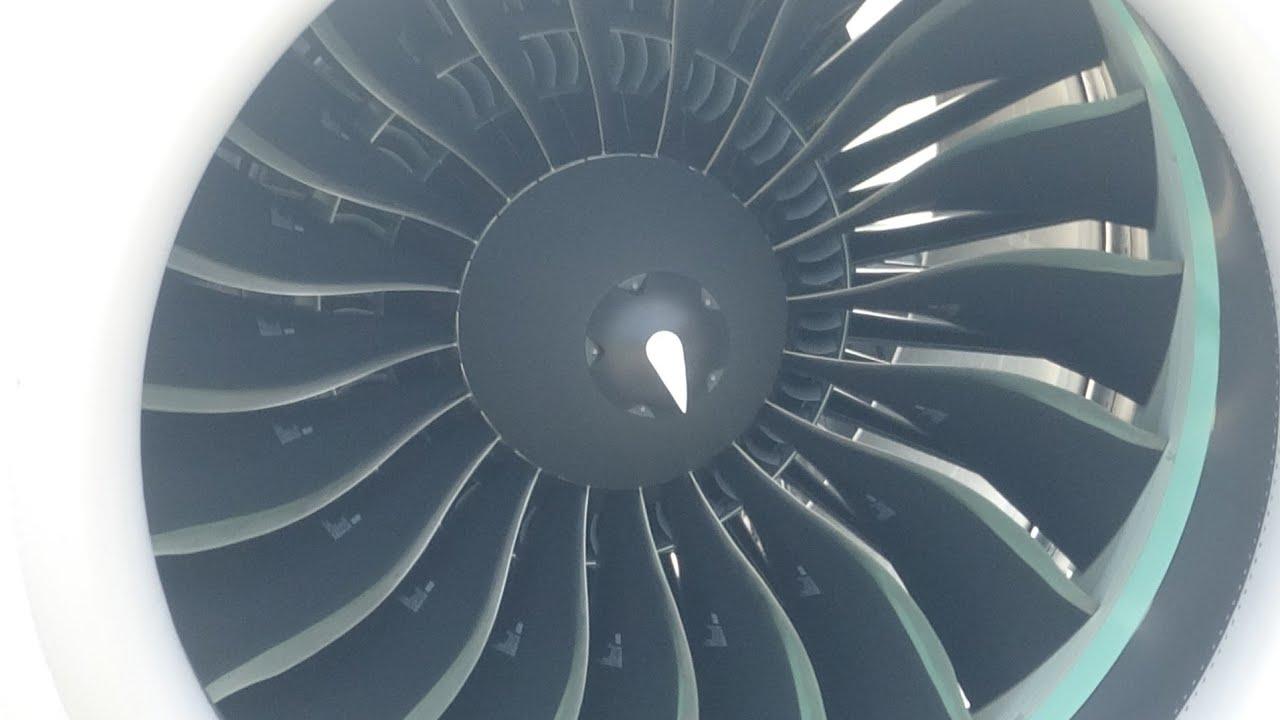 PW1100G Spinning up & Roar, ANA A321neo, JA140A, RJOM, 20200802 1分半と2分過ぎに鳴きます。