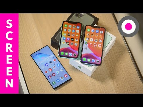 Which One Has The BEST Display | IPhone 11 Vs Note 10+ Vs IPhone 11 Pro Max | Display Comparison