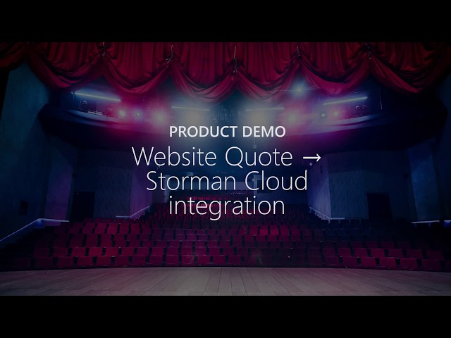 Demo: Website Enquiry to Storman Cloud Integration