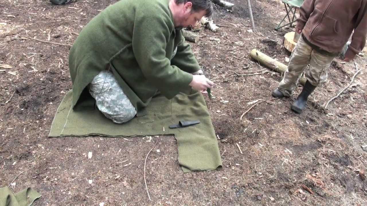 How To Make A Wool Blanket.Making A Wool Blanket Coat