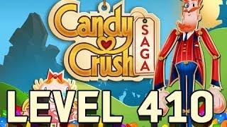 candy crash  saga level 410