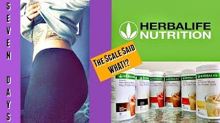 HOW TO LOSE WEIGHT FAST - HERBALIFE - DAY 1 WEIGH IN - THE SCALE SAID WHAT!?