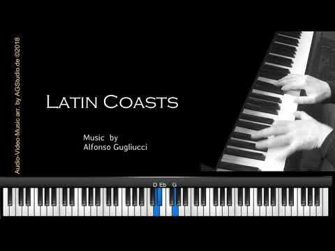 Latin Coasts - jazz piano