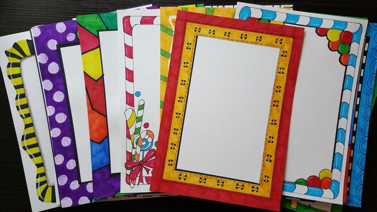 28 compilation border designs on paper border designs borders
