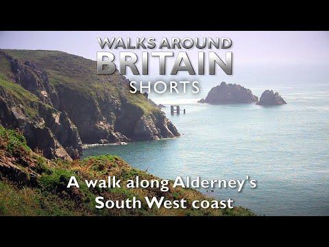 A Walk Along Alderney's South West Coast - Walks Around Britain Shorts