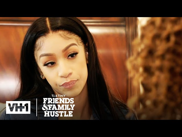 Deyjah Feels Uncomfortable Confronting Her Father   T.I. & Tiny\: Friends & Family Hustle